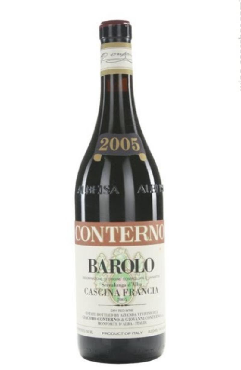 BAROLO-CASCINA-FRANCIA-GIACOMO-CONTERNO-2005-